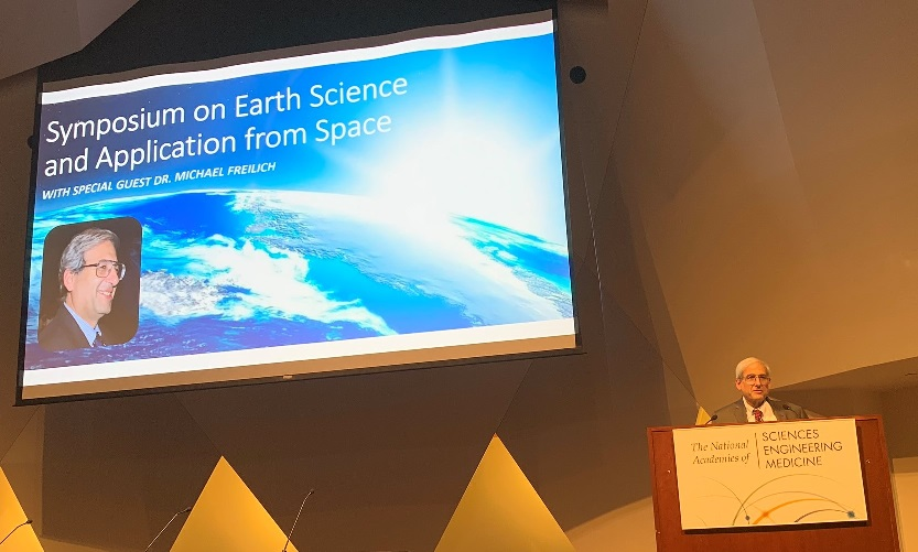 Earth Science Symposium avec Mike Freilich
