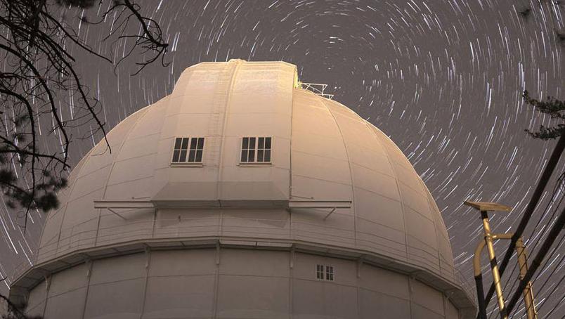 Plus d'un siècle d'observation spatiale au Mount Wilson Observatory
