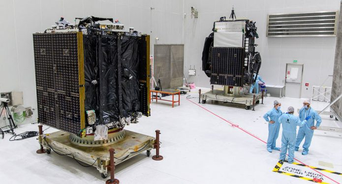 Next Ariane 5 mission, launch of Galaxy 30, MEV-2 and BSAT-4b
