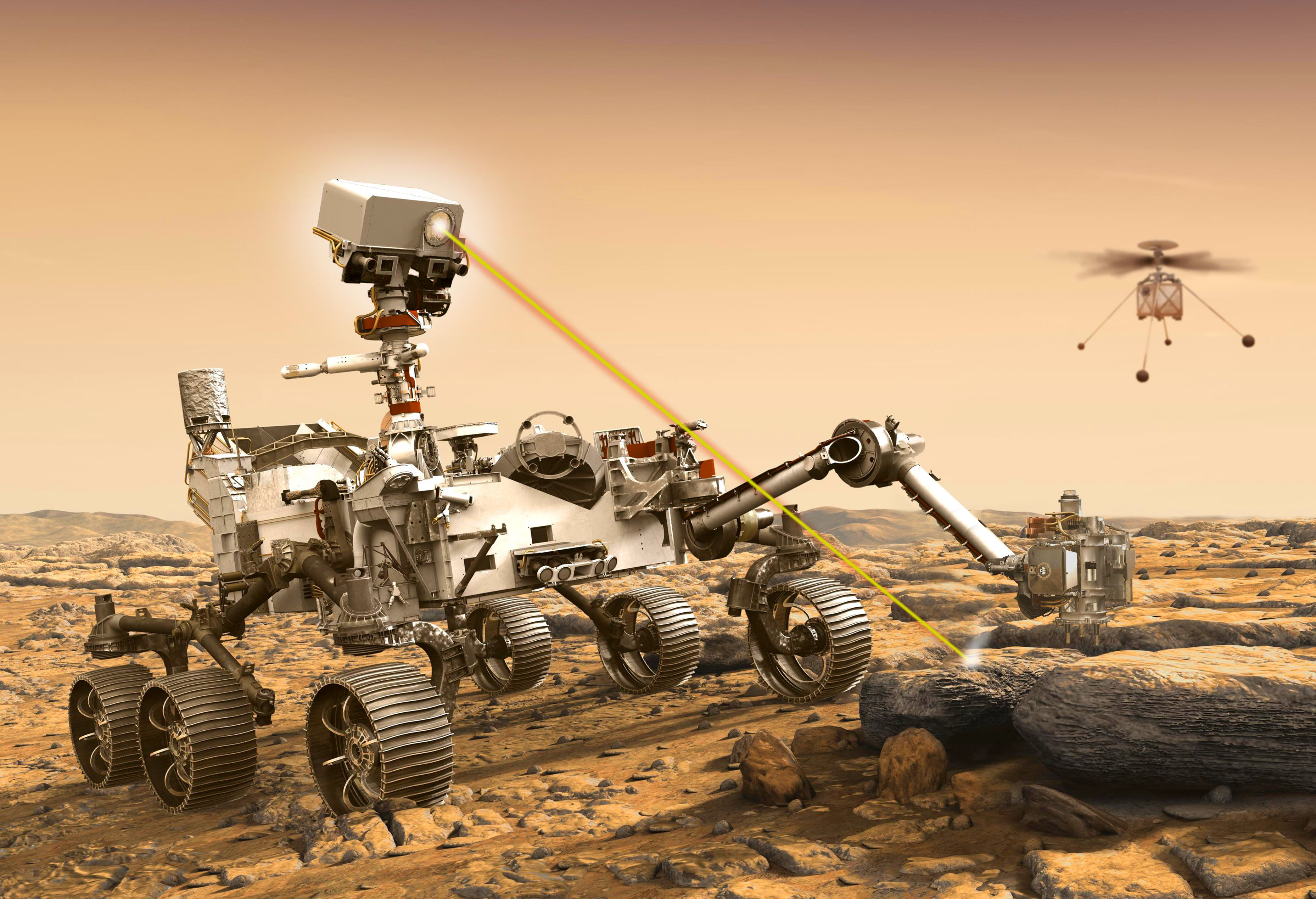 Mars 2020 mission launch: Perseverance rover and its SuperCam instrument safely on their way to Mars