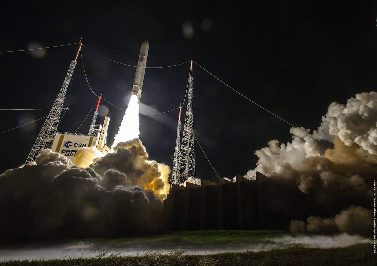 New launch success for Ariane 5 – Galaxy 30 / MEV-2 and BSAT-4B in orbit