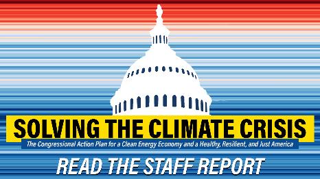 Un plan très ambitieux pour la lutte contre le changement climatique, les Climate Policy Recommendations soumises par les Démocrates