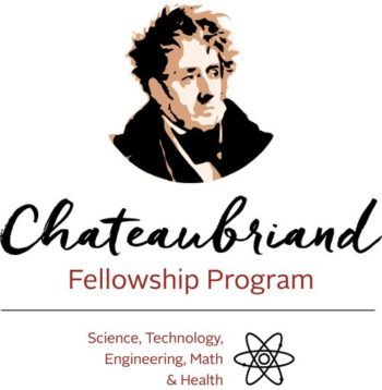Chateaubriand Fellowship: Call for Applications 2022-2023 Deadline January 14