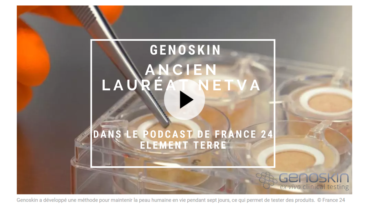 Genoskin, ancien Lauréat Netva en podcast sur France 24