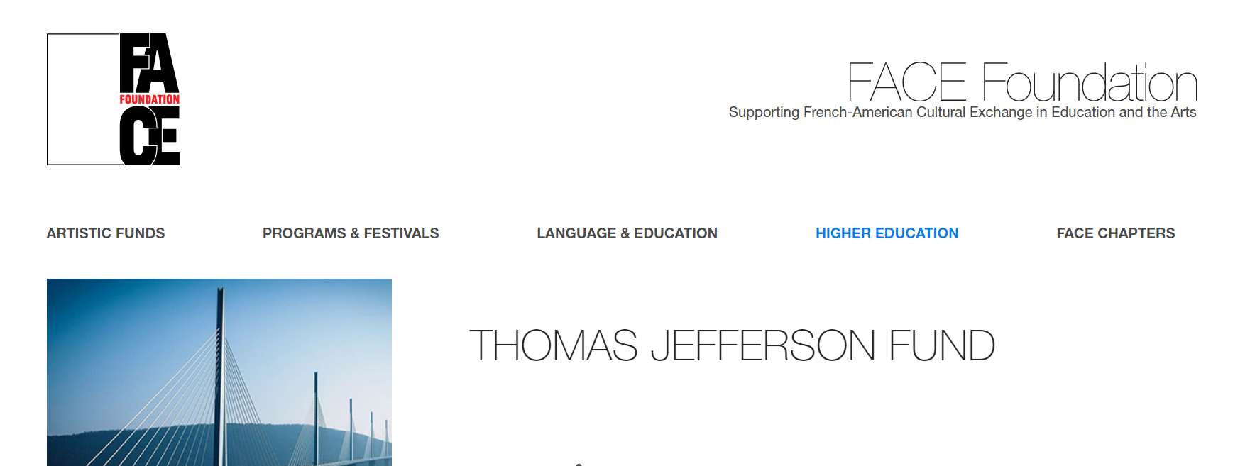 Until February 24, 2021: The Thomas Jefferson Fund Call for Proposals is open.