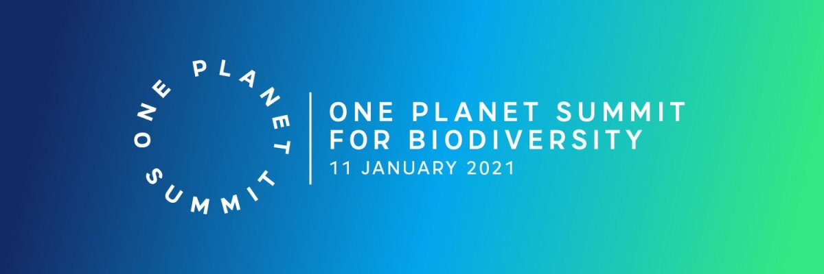 CNES at One Planet Summit at the Elysee Palace getting Space working for biodiversity