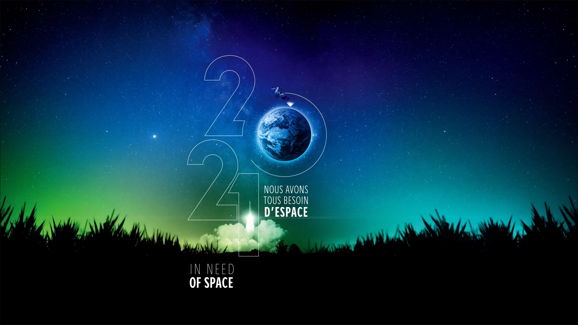Le CNES en 2021 : une ambition au service des citoyens, qui rappelle que : « Nous avons tous besoin d'Espace »