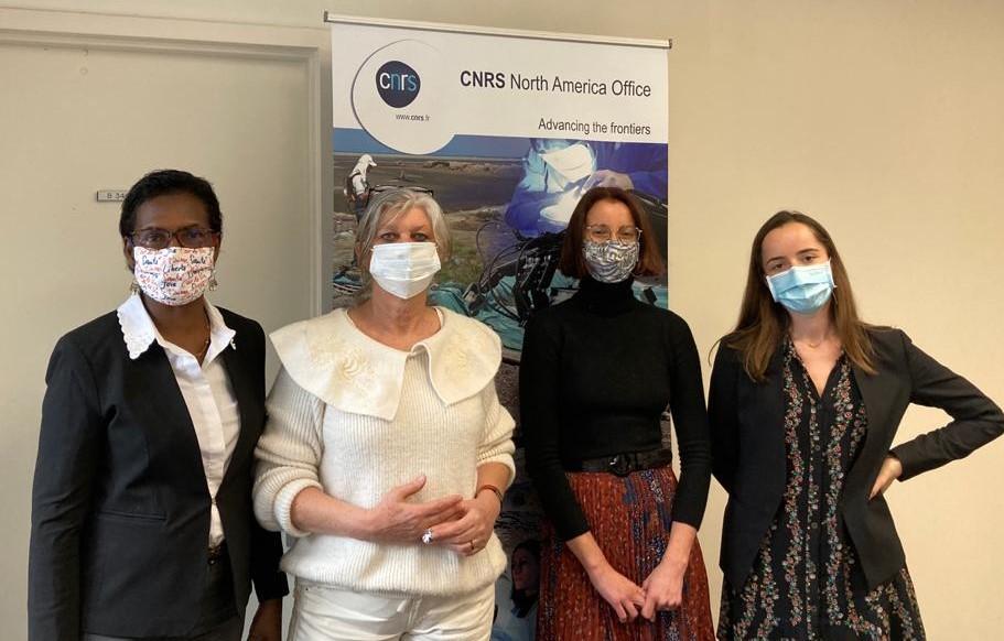 Le Bureau conjoint CNRS-INRAE à Washington D.C., toujours à 100% féminin