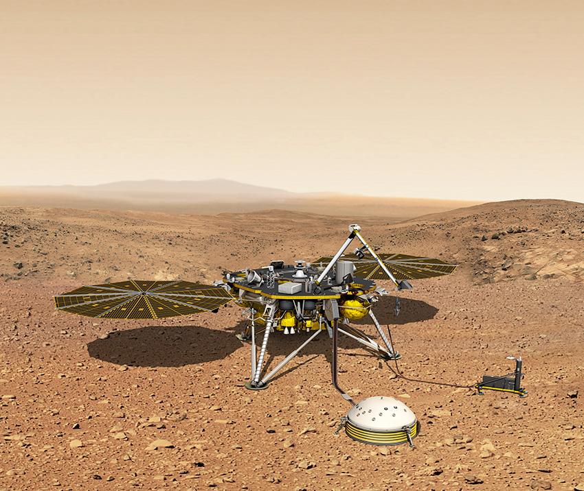 NASA and CNES extend InSight mission and French SEIS seismometer operations on Mars