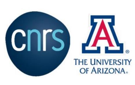 Deadline 14 mars : Programmes conjoints de doctorat – CNRS – Université de l'Arizona