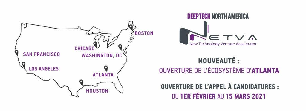 Lancement de Deeptech North America – NETVA 2021