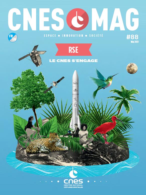CNESMAG 88 – RSE : Le CNES s'engage