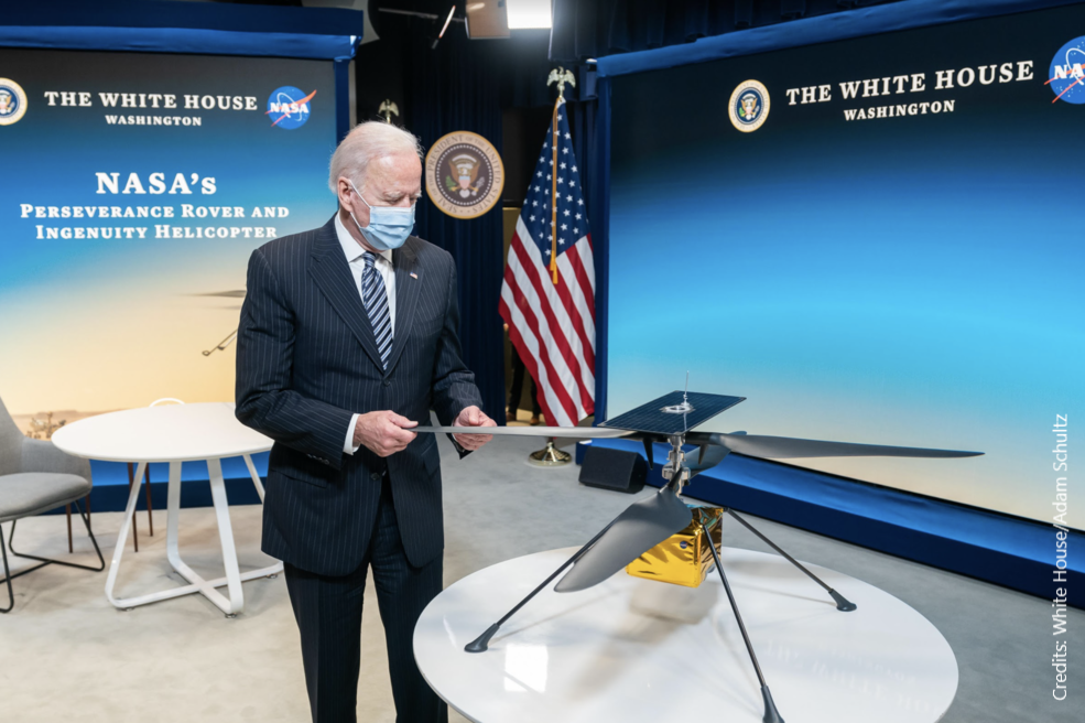 La politique spatiale ambitieuse de Joe Biden pour les États-Unis