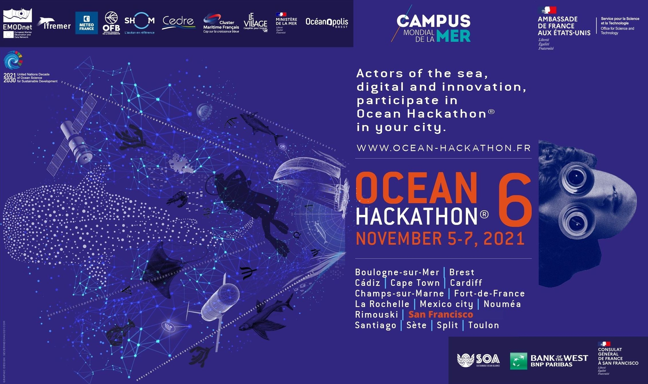 Join the Ocean Hackathon in San Francisco – Call for participants is now open!